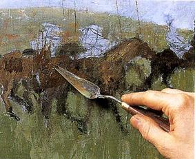 pittura olio