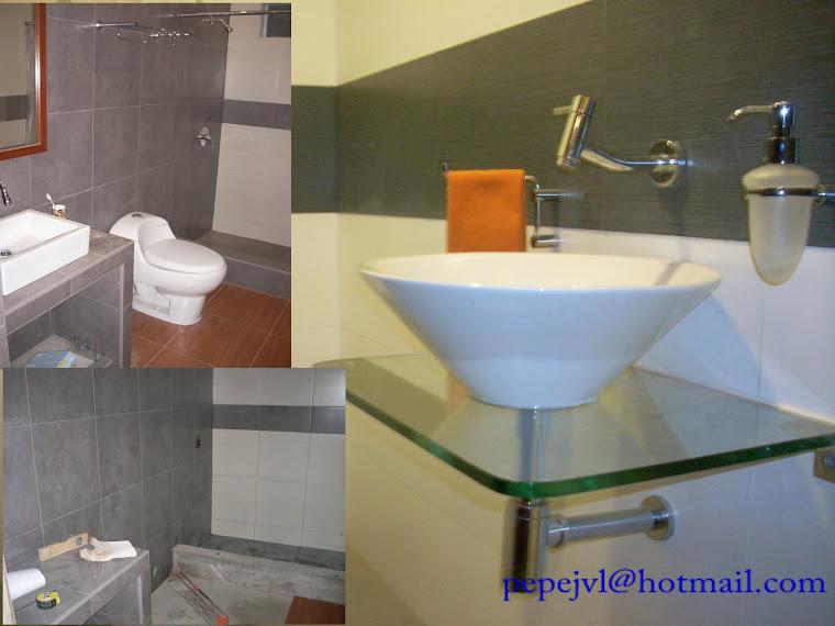 baños previamente diseñados