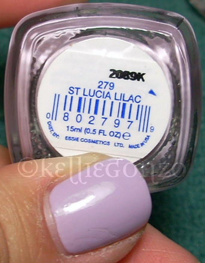KellieGonzo: essie st. lucia lilac