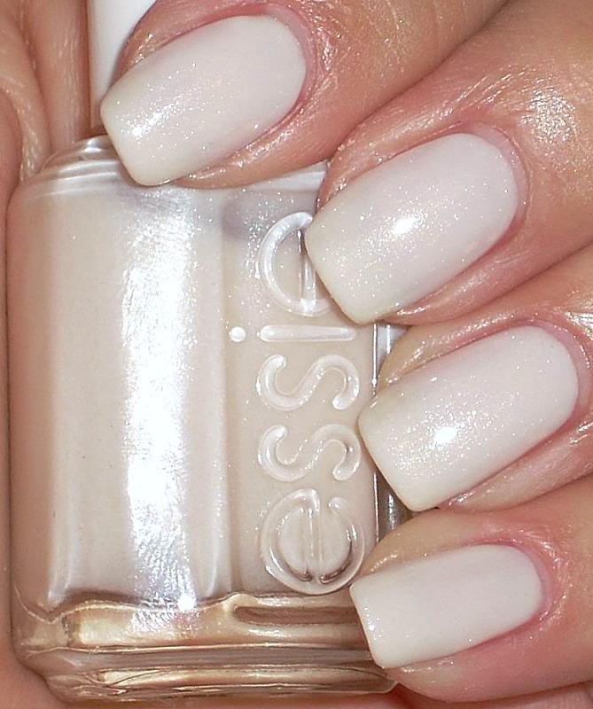 Essie White Glitter Nail Polish | Hession Hairdressing