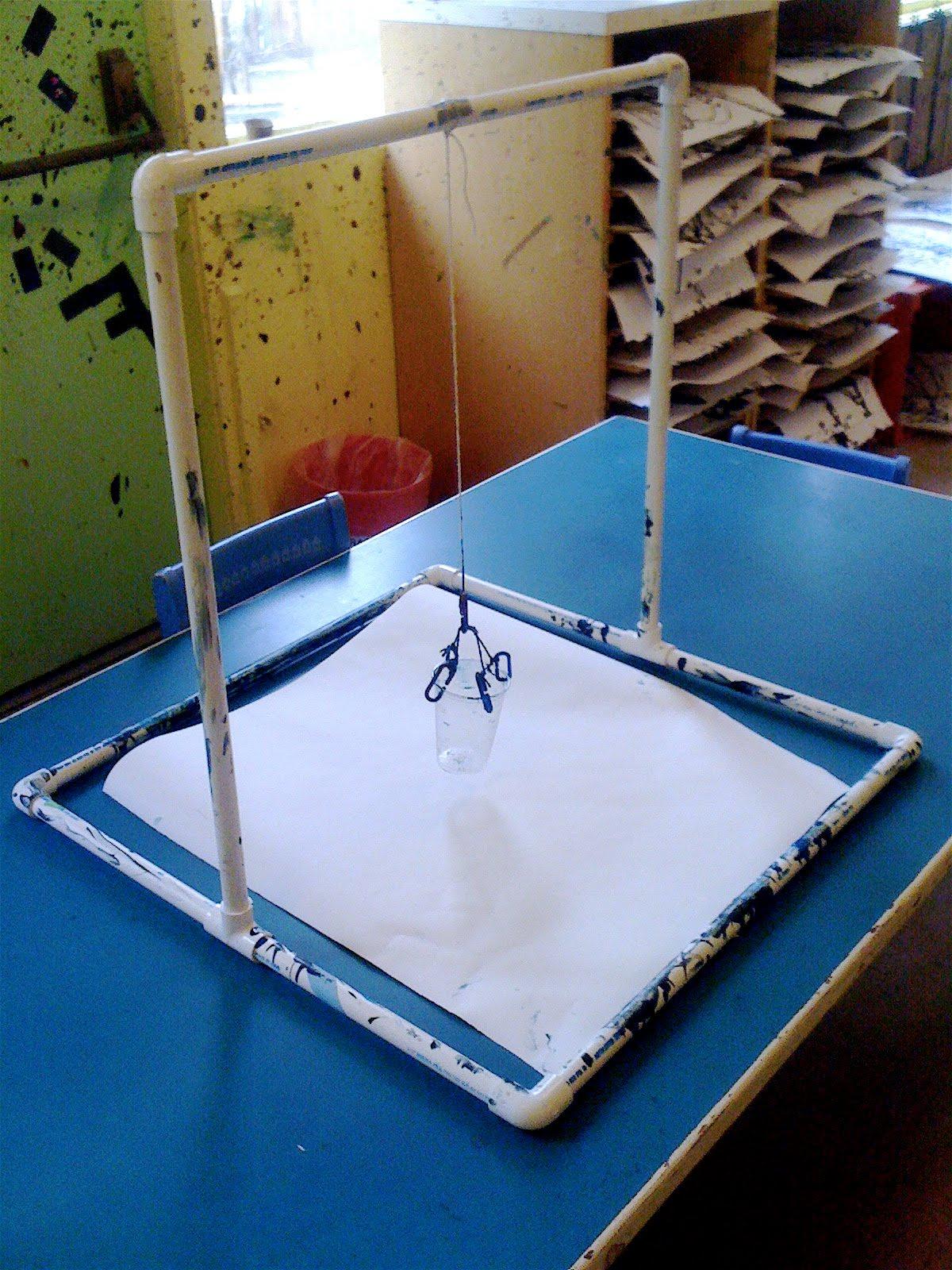 Teacher Tom Pendulum Painting