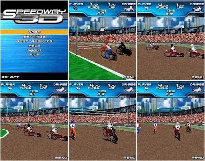 Speedway 3D java game