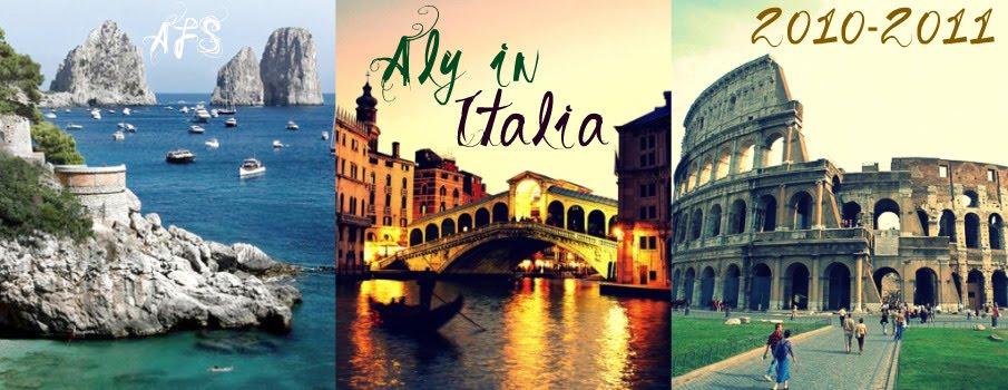 Aly in Italia
