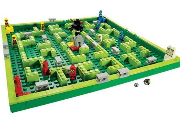 Emilia van den Heuvel: LEGO minotaurus game (3841)