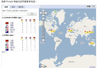 使用Google 關心 2008 Beijing 北京奧運