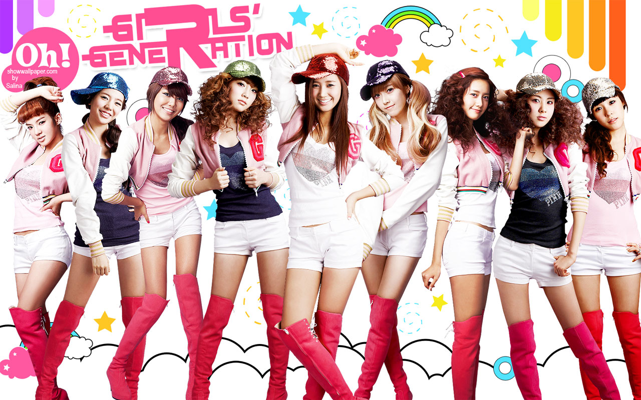 SNSD WALLPAPER DESKTOP Oh 3