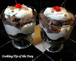 Caramel Brownie Toffee Trifle