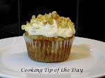Banana Sour Cream Muffins with Mascarpone Frosting