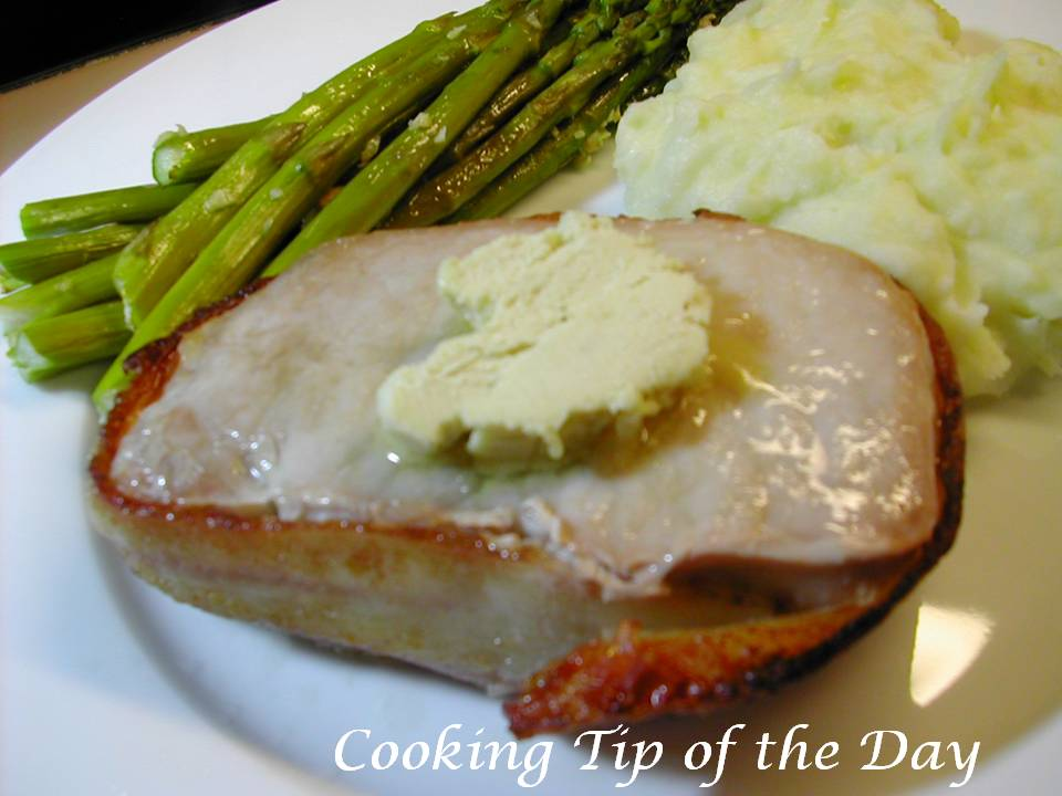 Grilled bacon wrapped pork chop recipe
