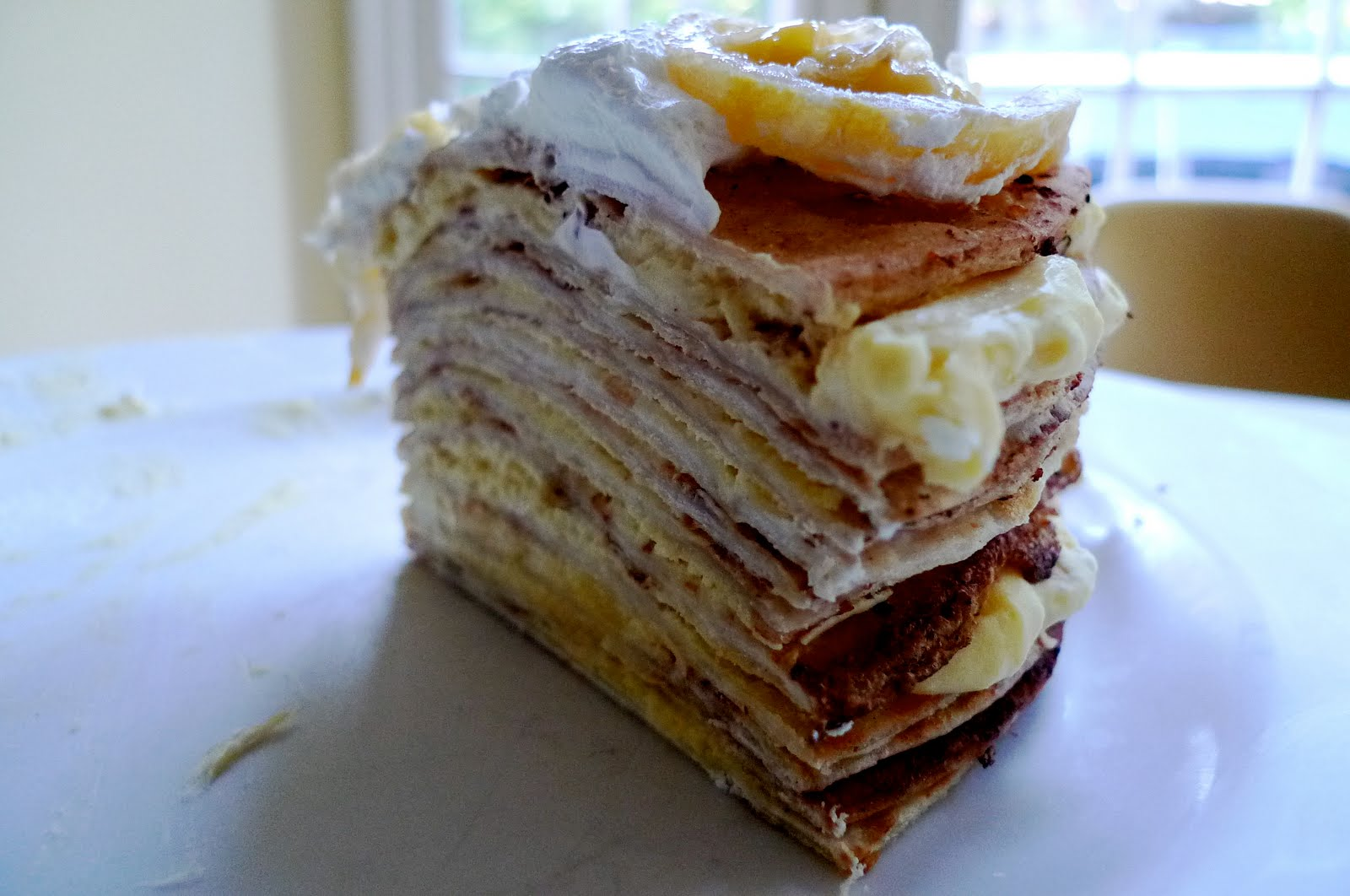 Bon Appétempt: Meyer Lemon Tortilla-Crepe Cake
