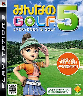 Everybody's Golf 5 - PS3 game box.