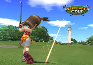 Everybody's Golf for PS2 - Switch Accessible gameplay.