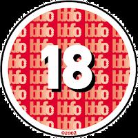 BBFC 18 Certificate logo