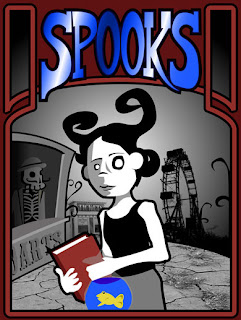 Spooks - an Adventure Game compatible with Head-Trackers, Eye-Trackers and other Accessible Controllers.