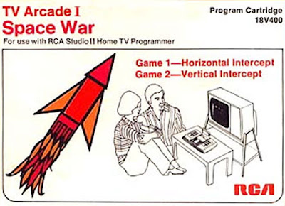 Image of RCA Studio II game Space War.
