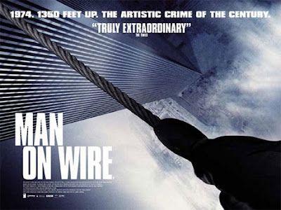 Man On Wire. Image of Film Flyer.