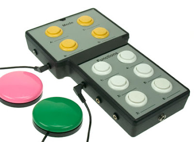 Dream-Gamer Domino Switch Accessible Learning Remote Control.