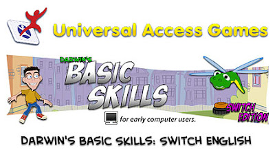 Universal Access Games - Darwin's Basic Skills for early computer users - Switch Edition.