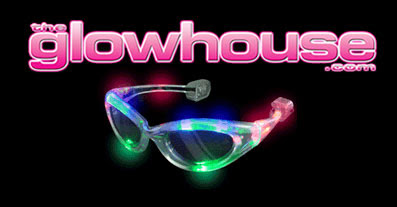 Image of The Glowhouse.com - Flashing sunglasses.