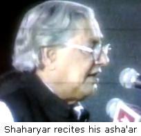 Gyanpith Award-2008: Urdu poet Shaharyar
