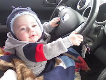 Can you believe he already can drive?