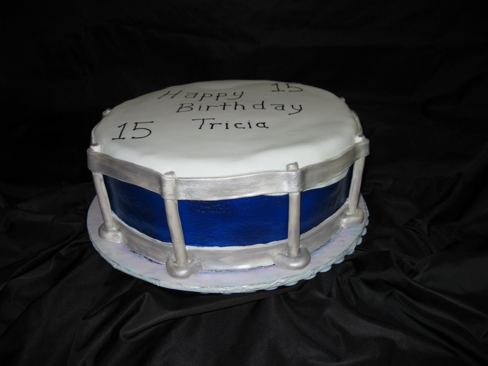 D S Cookie Jar Amp More Snare Drum Cake