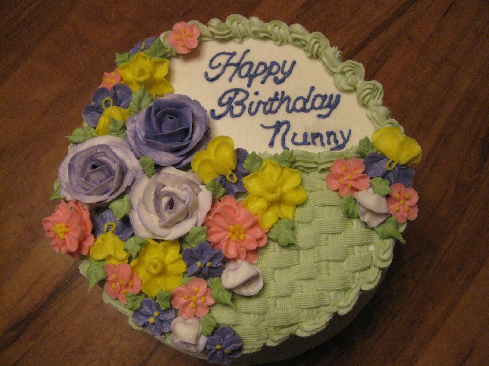Ds Cookie Jar More Birthday Basket Cake