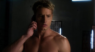 Justin Hartley Shirtless on Smallville s9e10