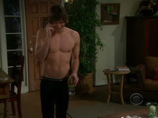 Zack Conroy Shirtless on Bold and the Beautiful 20100317