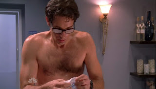 Zachary Levi Shirtless on Chuck s3e11