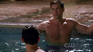 Nick Zano Michael Rady and Shaun Sipos Shirtless on MelrosePlace s1e15