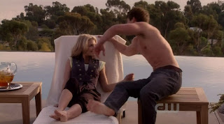 Matt Lanter shirtless on 90210 s2e16
