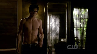 Ian Somerhalder and Zach Roerig Shirtless on Vampire Diaries s1e15