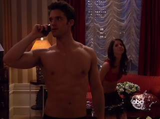 David Gregory Shirtless on One Life to Live 20100420