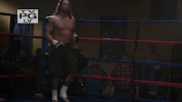 Christian Kane and Matt Lindland shirtless on Leverage