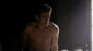 Paul Wesley Shirtless on Vampire Diaries