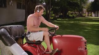 Brian Van Holt Shirtless on Cougar Town
