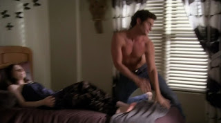 Penn Badgley Shirtless on Gossip Girl