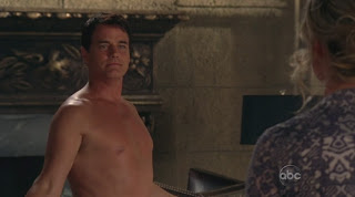 Paul Gross Shirtless on Eastwick s1e02