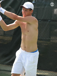 Tomas Berdych at Cincinnati 2008