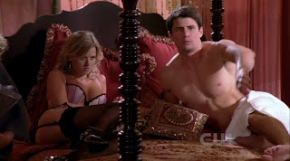 James Lafferty Shirtless on One Tree Hill s7e06