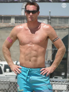 Matt Olson Shirtless at San Francisco Open 2009