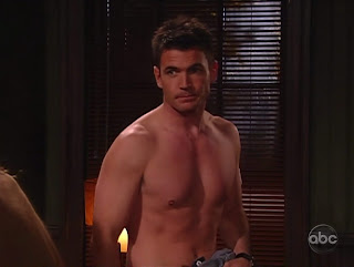 Aiden Turner Shirtless on All My Children