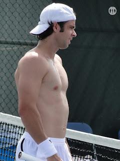 Fernando Gonzalez Shirtless at Cincinnati Open 2009