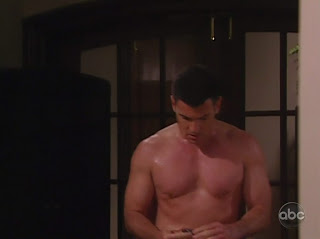 Aiden Turner Shirtless on All My Children 20091216