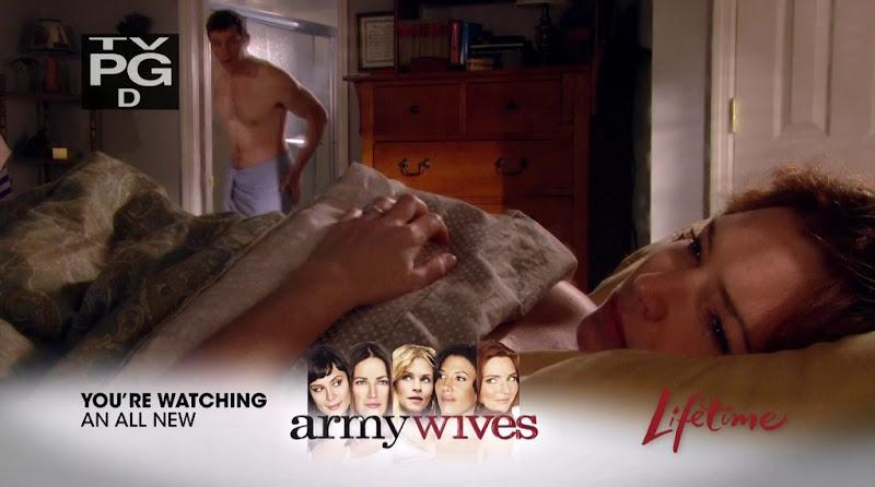 Jeremy Davidson Shirtless on Army Wives s4e07