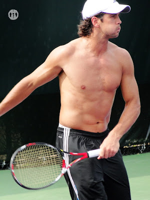 Fernando Verdasco Shirtless at Miami Open 2010