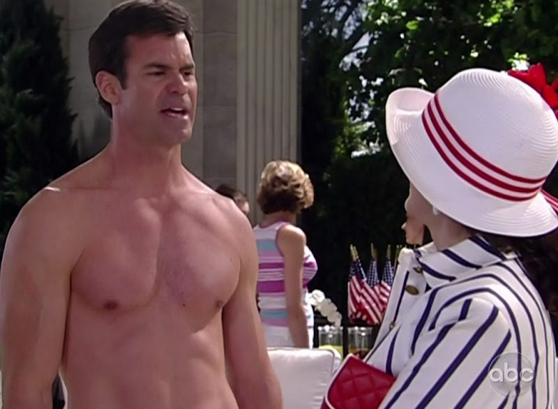 Tuc Watkins Shirtless on One Life To Live 20100702