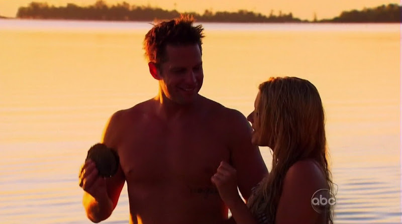 Chris Lambton Shirtless on The Bachelorette s6e09