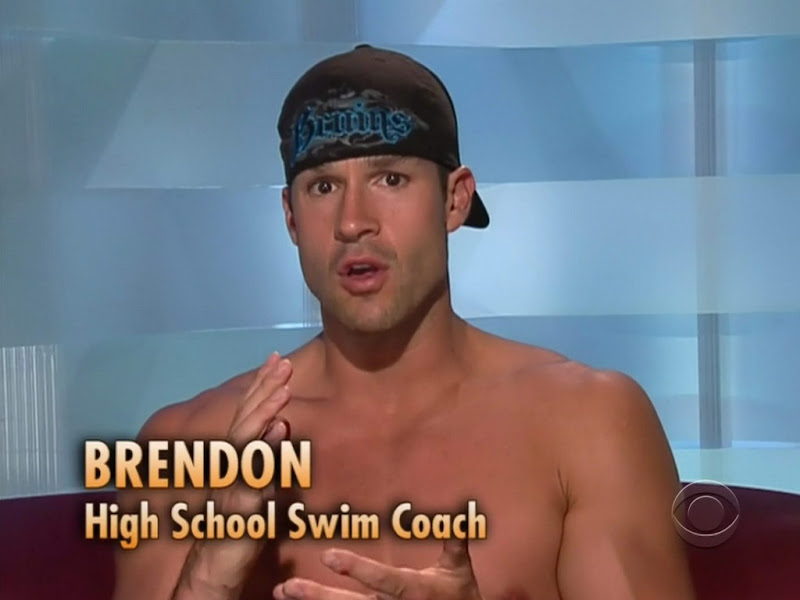 Brendon Villegas Shirtless on Big Brother 12 week2